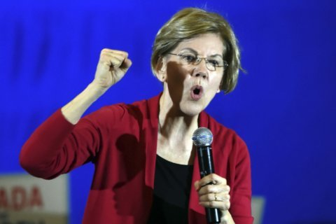 Warren slams moderate rivals, laying bare ideological divide