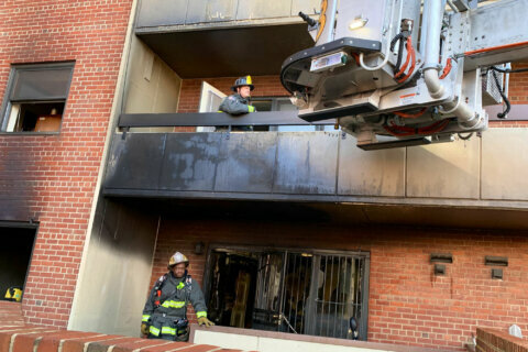 Fire at DC senior living apartment leaves seven injured