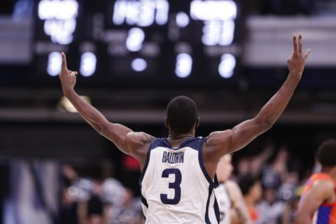 No. 24 Butler tops Florida 76-62 behind balanced scoring