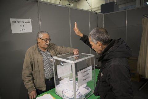 Algerians choose leader as pro-democracy movement boycotts
