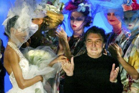 French fashion designer Emanuel Ungaro dies at 86