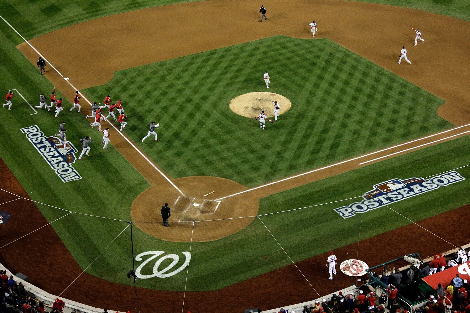 """<p><strong>5. Game 5, 2012</strong></p> <p>If the Caps had primed the pump to fuel the narrative of D.C. as a long-suffering sports town, the District's baseball team cranked open the valve on Oct. 12, 2012. Not 24 hours after the greatest moment in franchise history to date — Jayson Werth's epic <a href=""""https://www.youtube.com/watch?v=YifK0wy7QIc"""" target=""""_blank"""" rel=""""noopener"""">walk-off, game-winning, season-saving home run</a> — the Nats rocketed out to a 6-0 lead against Adam Wainwright and the St. Louis Cardinals, only to watch the life drip out of the game and the innocence of the first winning season in Washington. It was all capped by a nightmarish ninth inning that seemed to inform <a href=""""https://wtop.com/sports-columns/2017/10/incredible-impossible-inevitable-yes-the-nats-lost-in-game-5-again/"""" target=""""_blank"""" rel=""""noopener"""">every future Game 5 and playoff elimination to follow</a>. It was the game that had to be overcome, but never was, for seven more years.</p>"""