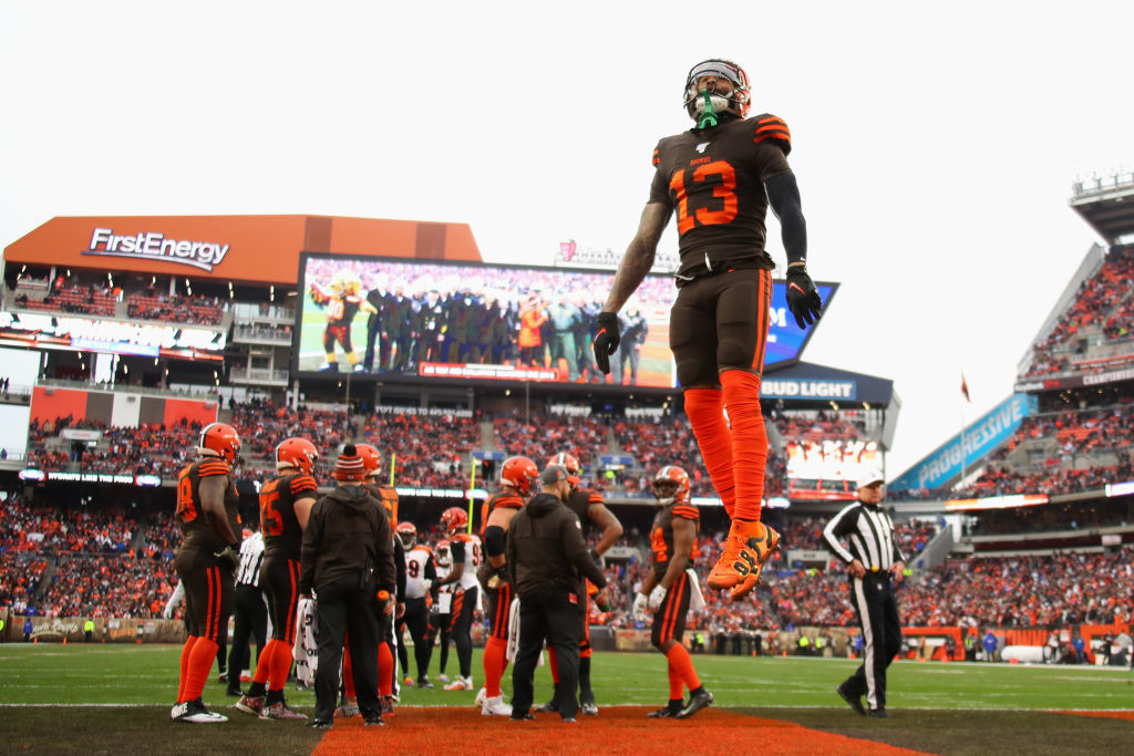 """<p><b><i>Bengals 19</i></b><br /> <b><i>Browns 27</i></b></p> <p>As has been the case in most of Cleveland&#8217;s rare wins this season, the tone surrounding this game made it feel more like a loss. Between the <a href=""""https://profootballtalk.nbcsports.com/2019/12/08/the-cheap-seats-are-the-cheapest-theyve-been-all-year-in-cleveland/"""" target=""""_blank"""" rel=""""noopener"""">Redskin-esque cheap seats</a> and the <a href=""""https://www.cleveland.com/browns/2019/12/odell-beckham-jrs-talent-has-been-wasted-in-what-multiple-sources-describe-as-a-dysfunctional-browns-offense.html"""" target=""""_blank"""" rel=""""noopener"""">brewing Odell Beckham controversy</a>, the Browns seem likely to blow this thing up in the offseason &#8212; again.</p>"""