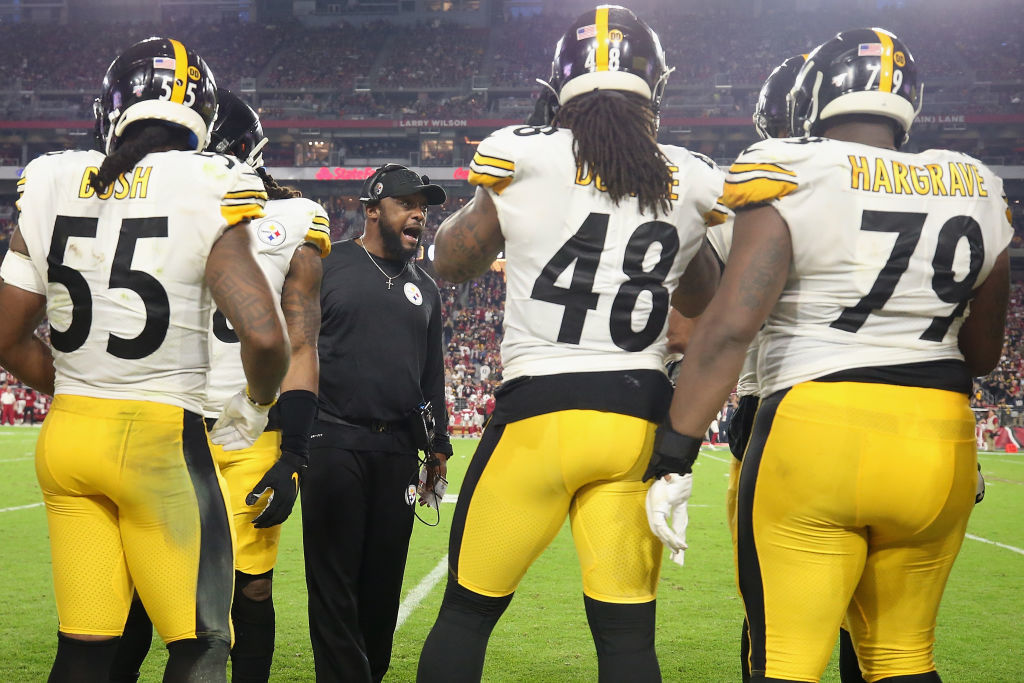 """<p><b><i>Steelers 23</i></b><br /> <b><i>Cardinals 17</i></b></p> <p>Considering Arizona is so bad <a href=""""https://www.espn.com/chalk/story/_/id/28212164/sources-josh-shaw-parlay-bet-included-arizona-cardinals-game"""" target=""""_blank"""" rel=""""noopener"""">their own players bet against them</a>, any fun <a href=""""https://www.azcardinals.com/news/gm-steve-keim-job-status-plan-for-offseason-excited-about-the-future-2020"""" target=""""_blank"""" rel=""""noopener"""">Steve Keim has building the Cardinals</a> will be on Madden.</p> <p>But the real-life Steelers are getting their best QB play from A Man Called Duck, and against all odds, maintain Mike Tomlin&#8217;s streak of non-losing seasons in Pittsburgh to remain in the driver&#8217;s seat for the last AFC wild card. Have I told you lately I think Tomlin should be Coach of the Year?</p>"""