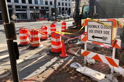 Lawmakers target construction blocking Bethesda's sidewalks