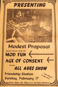 Modest Proposal flyer