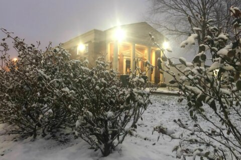 Expect slow travel as wintry mix gives way to plain rain in DC region