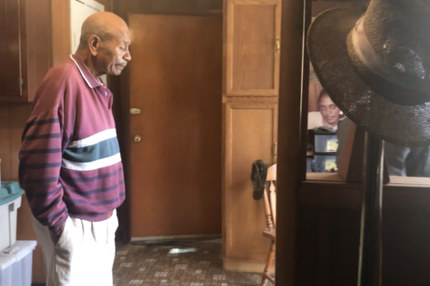 WWII combat vet, 96, gets surprise helping hand from volunteer contractors