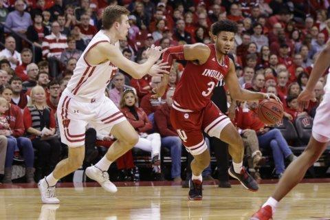 King scores career-high 24, Wisconsin beats Indiana 84-64