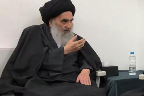 Officials: Iraq's top cleric discharged from hospital