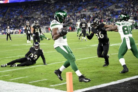 Welcome to the club: Jets can't stop Ravens running game