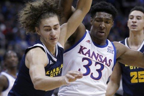 McCormack's 28 points help No. 2 KU rout Kansas City 98-57