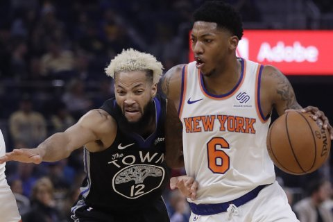 Morris leads Knicks past Warriors in OT to snap 10-game skid