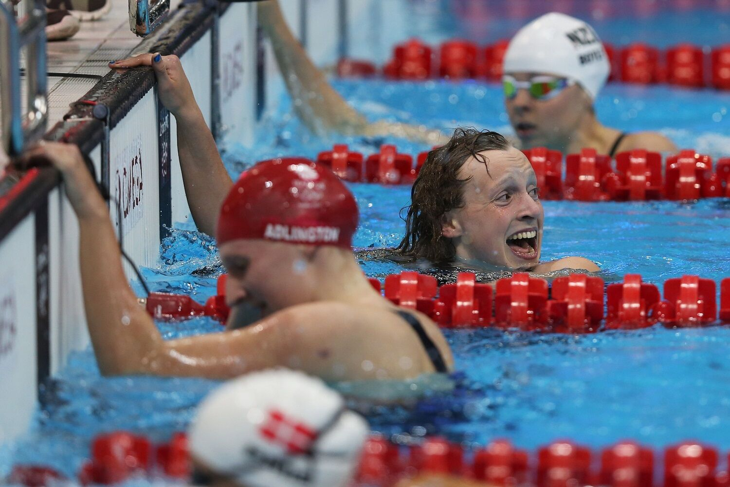 """<p><strong>6. Katie Ledecky 800m in London</strong></p> <p>It can be hard to remember now, but Ledecky was just 15 when she stunned home favorite and world record-holder Rebecca Adlington — in front of god, and country, and the Royal Family, no less — in a race that's supposed to be for the veterans of the sport. She had a shot at a medal, sure, but nothing like this, nothing like the announcement that this wasn't anyone else's pool but hers. <a href=""""https://www.youtube.com/watch?v=JHbNKX3VkIM"""" target=""""_blank"""" rel=""""noopener"""">Just listen to the announcers</a> — at no point are they framing it as Ledecky's race until 600 meters in. The only thing that would elude Ledecky that day was the world record — just — but not for long. While the 2012 result didn't produce the kind of stunning visuals of <a href=""""https://www.youtube.com/watch?v=GAGXNs0MXzI"""" target=""""_blank"""" rel=""""noopener"""">her dominant 2016 swim</a>, it reset the pecking order in the pool, so long as Ledecky's on the blocks. Ledecky will never sneak up on anyone again … but good luck catching her.</p>"""