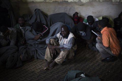 TB, armed guards, lack of food at UN migrant center in Libya