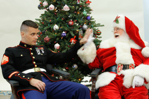 High demand for Marine Toys for Tots donations