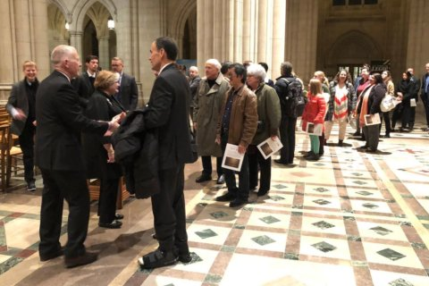 New plaque at Washington National Cathedral to honor Matthew Shepard