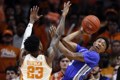 No. 13 Memphis outlasts No. 19 Tennessee, avenges loss