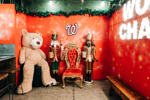 A Curly W Christmas: DC pop-up bar celebrates the Nationals