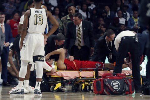 NC State: Hellems out of hospital, in 'good spirits'