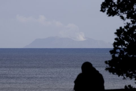 Voicemail said couple burned by volcano; then silence