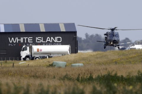 New Zealand recovers 6 bodies from toxic volcanic island