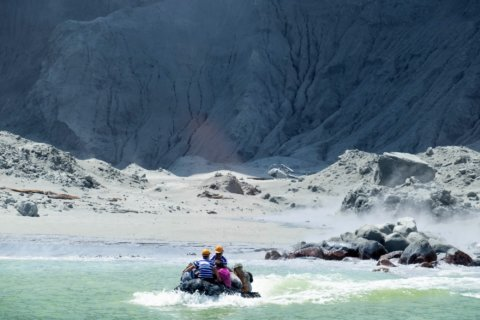 Stories of injured, missing in New Zealand volcano eruption