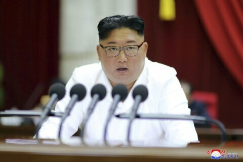 Kim calls for measures to protect North Korea's security