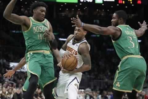 Tatum (26 pts), Brown (21) help Celtics beat Denver 108-95