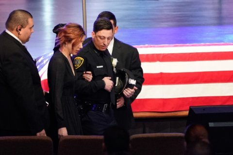 Slain Houston officer remembered for friendship, quirkiness