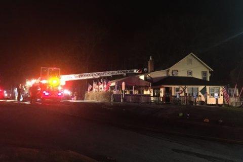 Fire tears through historic Olney Ale House