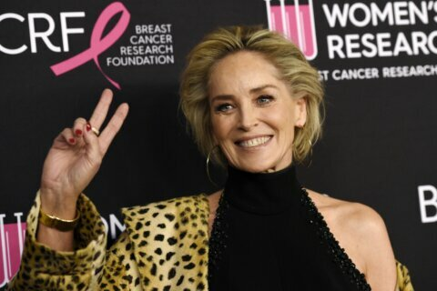 Sharon Stone's dating profile restored after being blocked