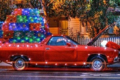 Dress your car up for the holidays