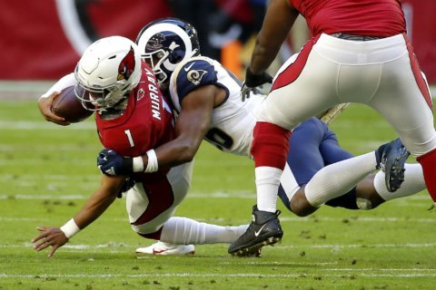 Sack binge sends LA Rams defense past last season's total