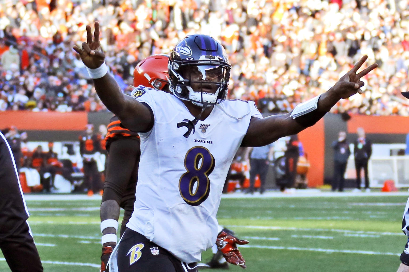 <p><strong>Can Lamar Jackson pay off his MVP season with a title?</strong></p> <p>Lamar Jackson's winning the NFL MVP. And with the New England Patriots giving themselves a torturous road through the AFC playoffs, the Baltimore Ravens are sitting pretty with both the first round bye and homefield advantage throughout the playoffs to get back to the Super Bowl. They'll likely have to get past either the Pats or last year's breakout team, the Kansas City Chiefs, to get there. But with a year as wide open as we've seen in a while, a title could set Jackson and the Ravens atop the heap as not only the best team in the game this season, but for years to come.</p>