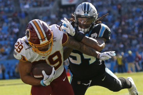 Redskins put RB Derrius Guice on season-ending IR