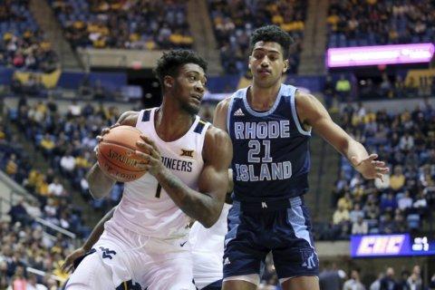 Culver's double-double helps WVU beat Rhode Island 86-81