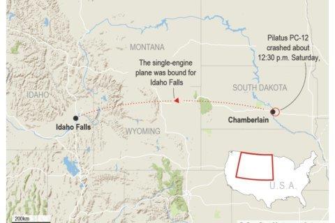 Correction: Plane Crash-South Dakota story