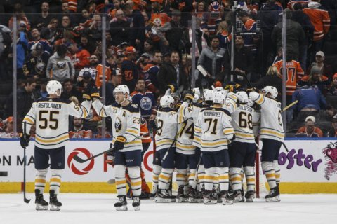 Miller lifts Sabres to 3-2 overtime win over Oilers