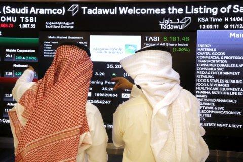 Saudi Aramco inches near $2 trillion in day 2 of trading