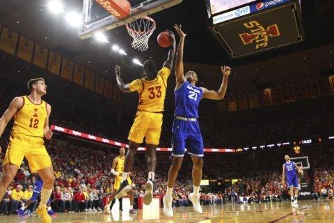 Iowa State upends No. 16 Seton Hall 76-66