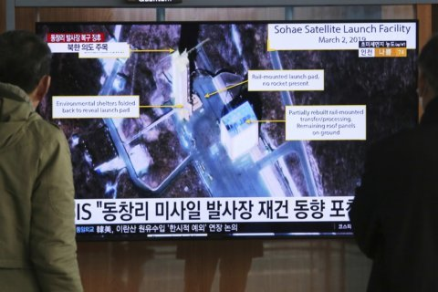 North Korea conducts another test at long-range rocket site