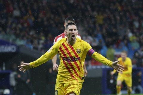 Messi goal extends Atlético winless run against Barcelona