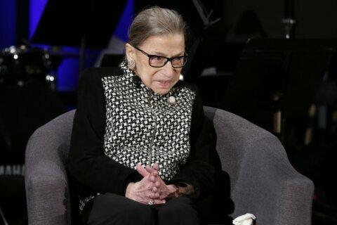 Ailing or no, Ruth Bader Ginsburg maintains busy public life