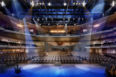 Live! Casino & Hotel unveils new concert venue The Hall