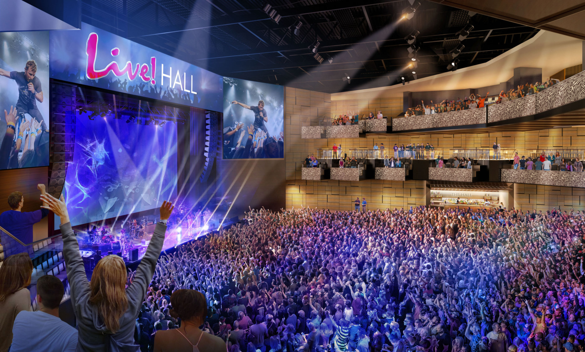 Live Casino Hotel Unveils New Concert Venue The Hall Wtop