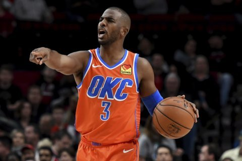 Thunder opens road trip with 108-96 win in Portland