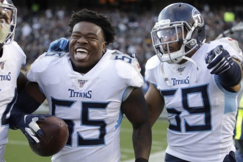 Titans host Texans in battle for AFC South lead