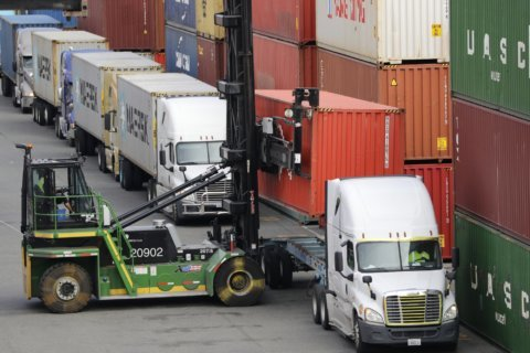 US trade gap narrows 7.6% to $47.2 billion in October