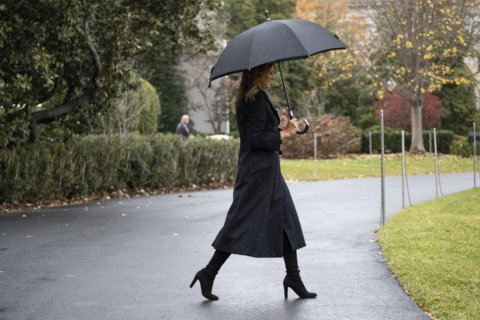 Melania Trump's abroad, but not on promised 'Be Best' trip
